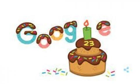 Google comemora aniversário de 23 anos