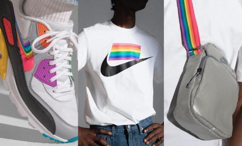 Nike lança coleção BETRUE com Gilbert Baker em homenagem ao movimento LGBT+