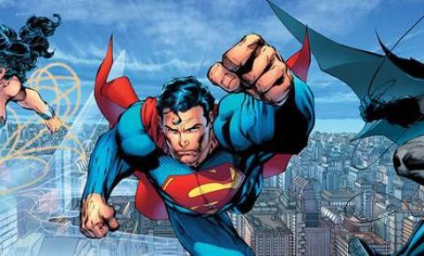 """""""Obrigado, Mulher-Maravilha, Super-Homem e Batman"""