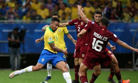 Brasil e Venezuela empatam e adiam classificação para a próxima fase