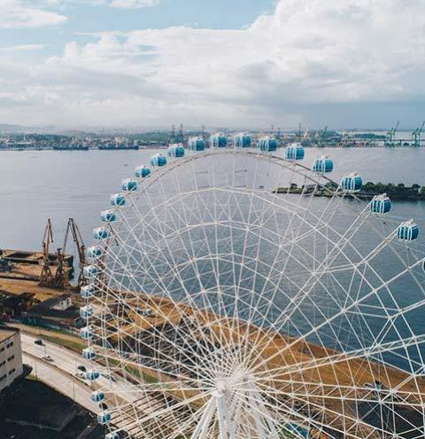 Rio inaugura nesta sexta a maior roda-gigante da América Latina: saiba tudo