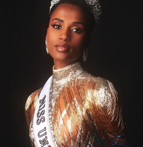 Zozibini Tunzi: se inspire na Miss Universo 2019