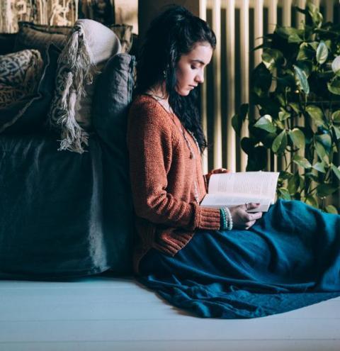 A leitura como válvula de escape para a pressão provocada pelo isolamento