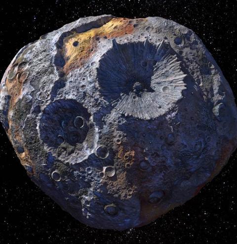 Conheça o 16 Psique, asteroide valioso que será visitado pela NASA