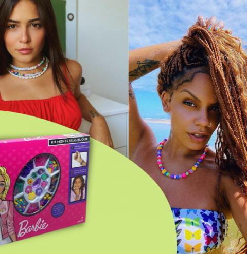 Miçangas coloridas: Dos kits da Barbie para visual dos famosos