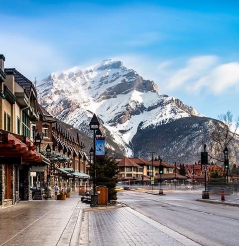 Relatos de viagem: Banff, uma vila aconchegante