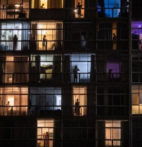 As janelas da pandemia