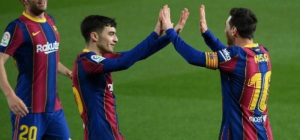 Com dois gols de Messi, Barcelona vence mais um jogo e segue na disputa pela liderança de La Liga