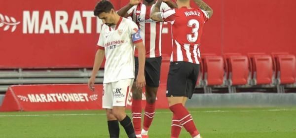 Com golaço de Iñaki Willians, Athletic Bilbao derrota o Sevilla